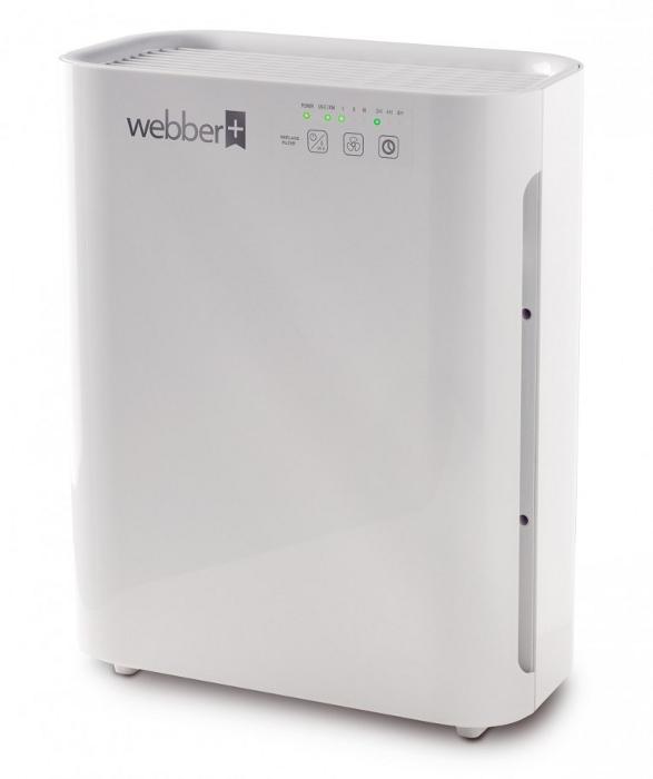 Przód oczyszczacza powietrza Webber AP8400