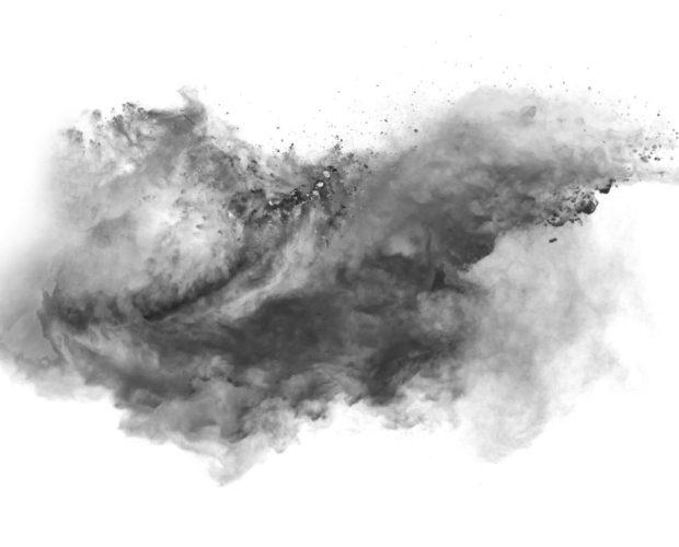 Grafika pyłu zawieszonego PM2.5 i PM10