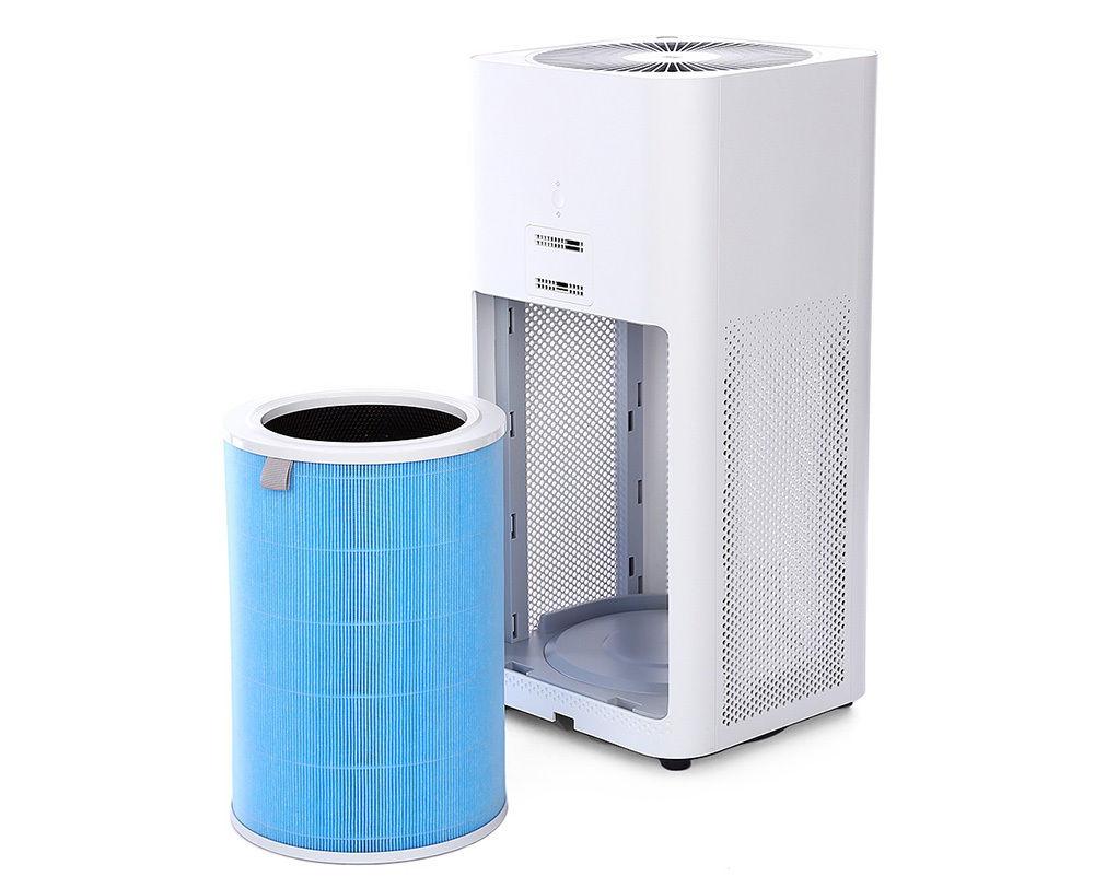 Oczyszczacz powietrza xiaomi air purifier 2 filtr i otwarta obudowa