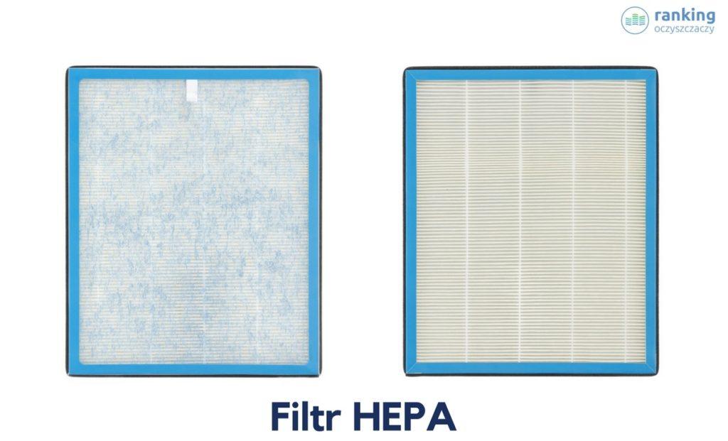 Filtr HEPA tył i przód