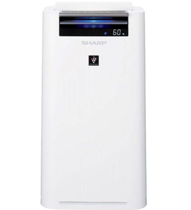 przód oczyszczacza powietrza sharp kc-g50euw