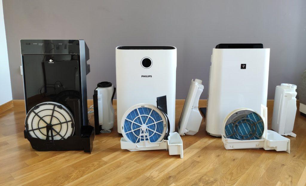 Oczyszczacze powietrza z funkcja nawilzania