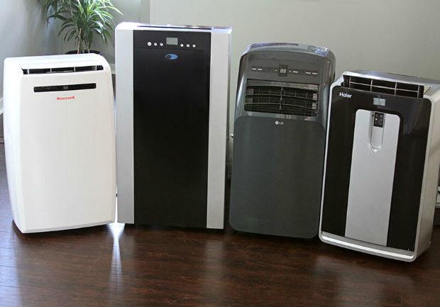 Klimatyzatory przenośne w pokoju