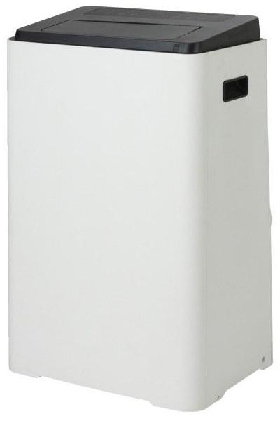 Klimatyzator przenośny z Castoramy 13,3 kBTU na białym tle.
