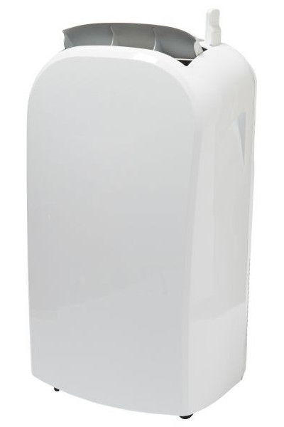 Klimatyzator przenośny z Castoramy Blyss 12 kBTU na białym tle.