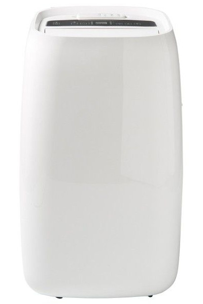 Klimatyzator przenośny z Castoramy Blyss 9 kBTU z grzaniem na białym tle.