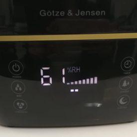 wyświetlacz nawilżacza Götze & Jensen