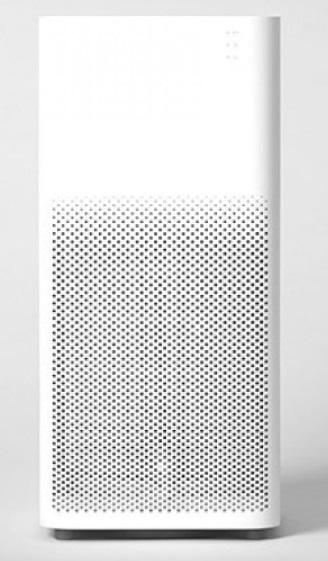 Oczyszczacz powietrza Xiaomi Air Purifier 2H na szarym tle.