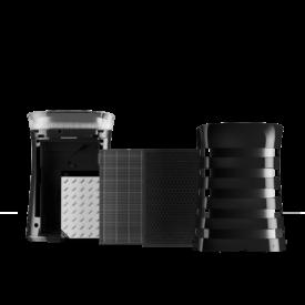 Stopnie filtracji w oczyszczaczu Sharp UA-PM50E-B