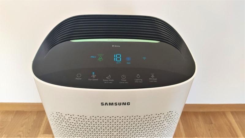 Panel sterowania Samsung AX60 recenzja