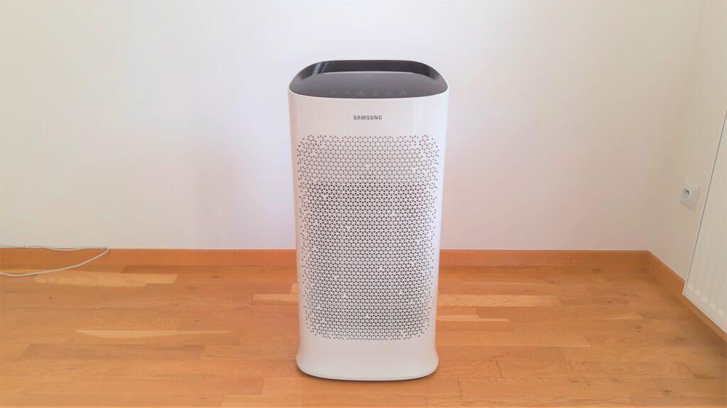 Oczyszczacz powietrza Samsung AX60 widok z przodu