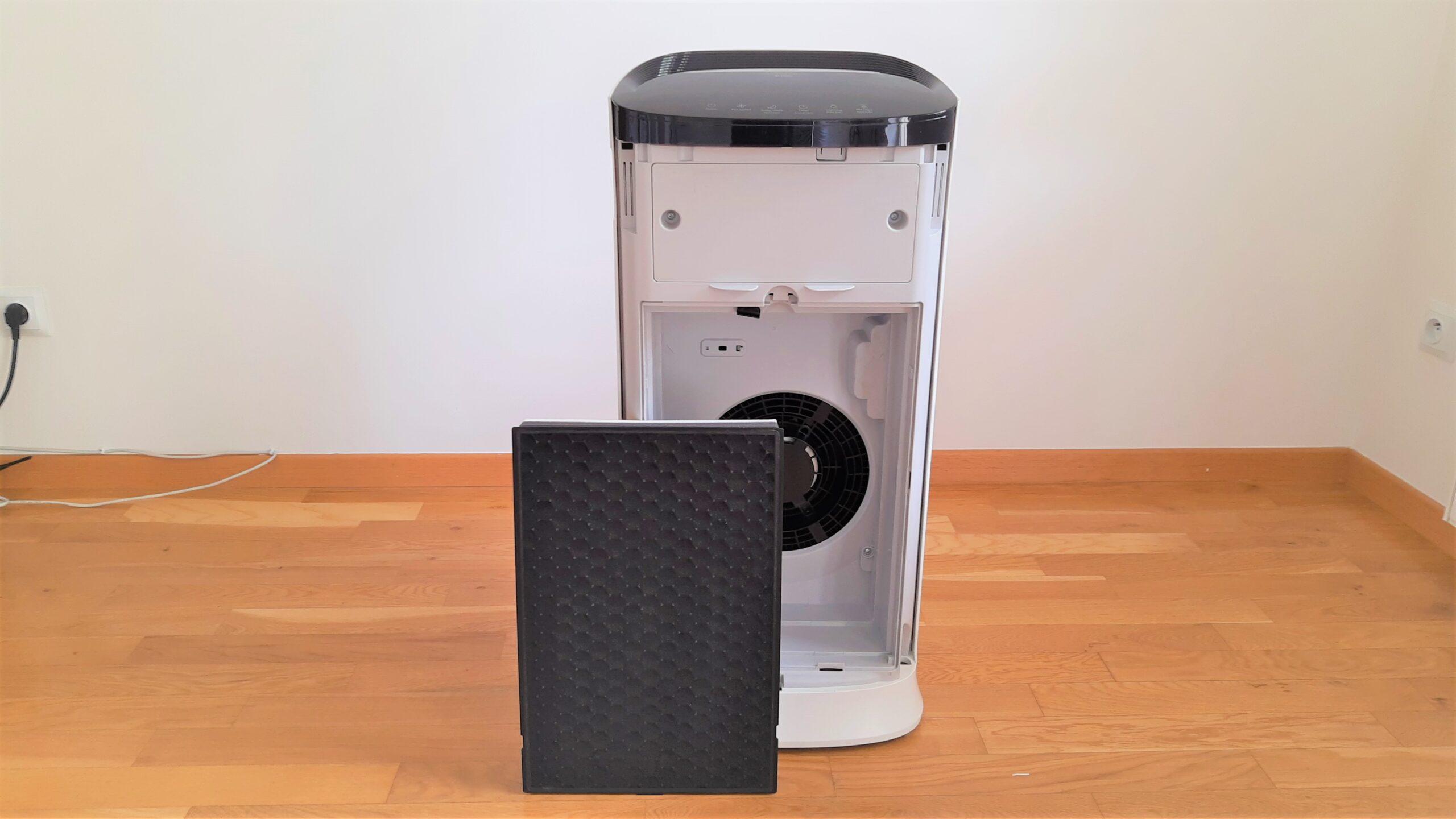 Filtry w oczyszczaczu powietrza Samsung AX60
