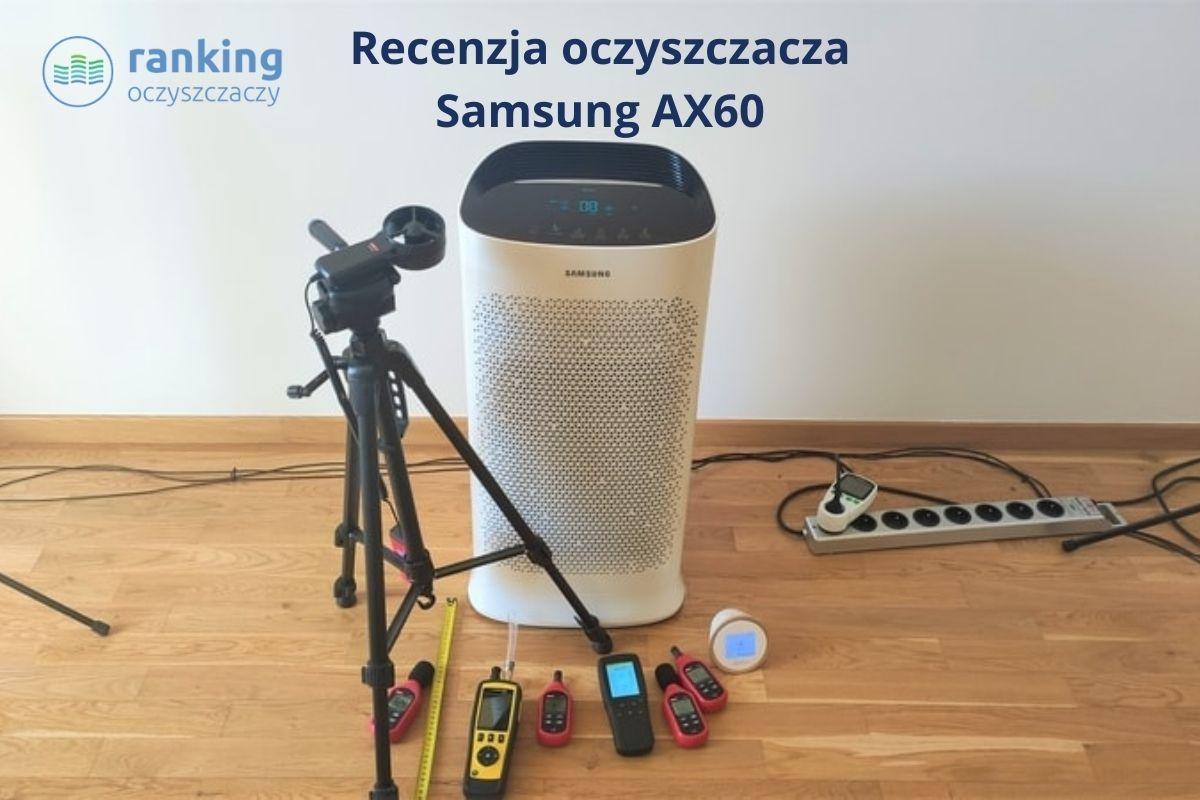 Oczyszczacz powietrza Samsung AX5500K recenzja ranking oczyszczaczy