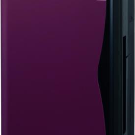 Daikin Ururu oczyszczacz od przodu z fioletową obudową