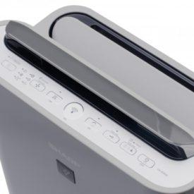Wylot powietrza i panel do sterowania Sharp UA-HD60E-L