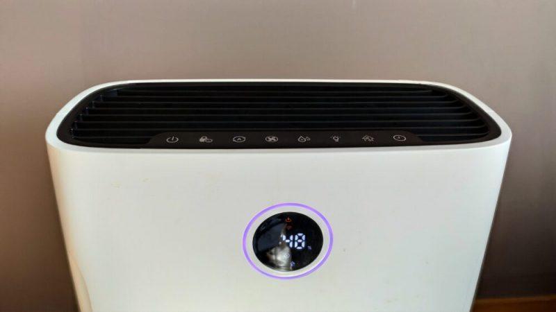 Oczyszczacz powietrza Philips AC2729/50 wyświetlacz