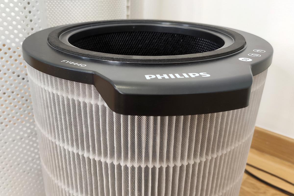 Filtr Philips FY4440/30 - widok z zewnątrz