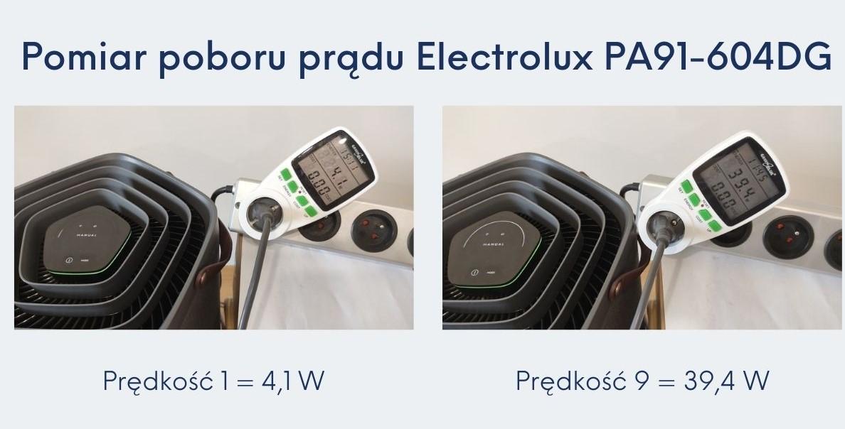 Pobór prądu Electrolux PA91-604DG recenzja