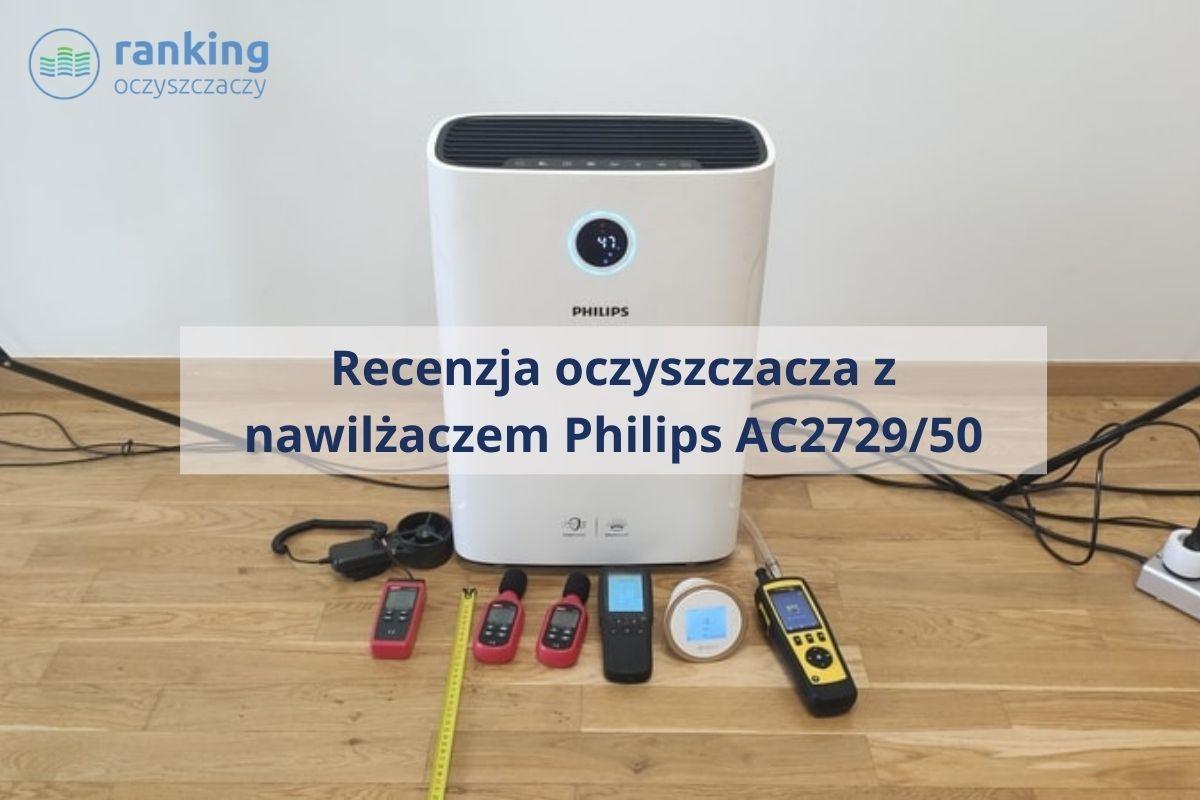 Philips AC2729/50 recenzja zdjęcie główne