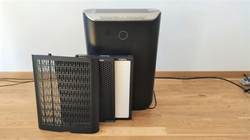 Klarta Stor filtr wstępny, węglowy oraz HEPA