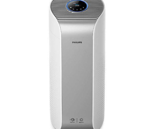 Oczyszczacz powietrza Philips AC3854/50, widok od przodu.