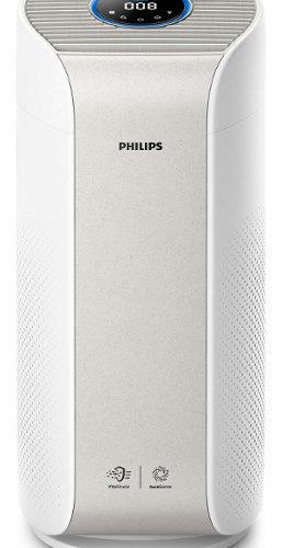 Oczyszczacz powietrza Philips AC3055/50 na białym tle.