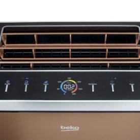 Panel i wylot powietrza w oczyszczaczu Beko ATP8100