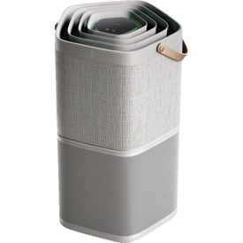 Oczyszczacz powietrza Electrolux PA91-404GY (szary) na białym tle.