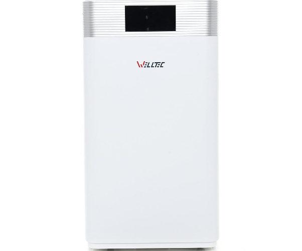 Oczyszczacz powietrza Welltec APH1000D na białym tle.