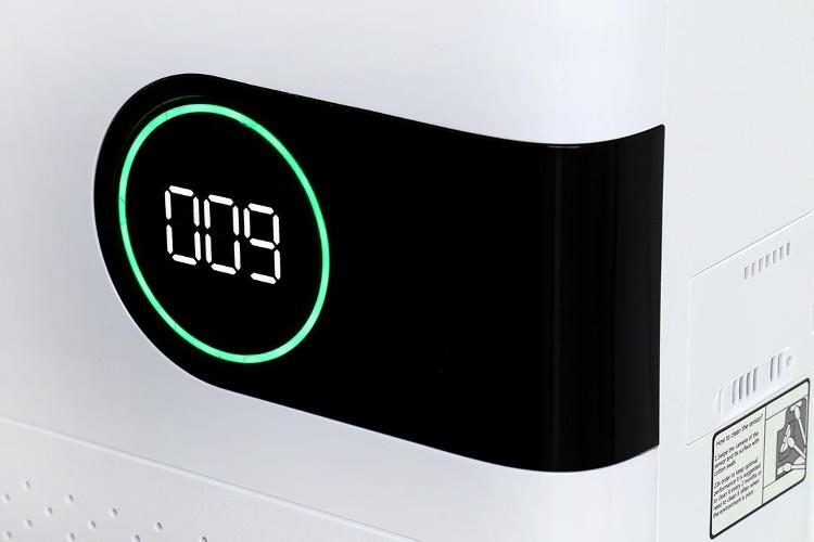 Wskaźnik jakości powietrza w oczyszczaczu Welltec APH450D.