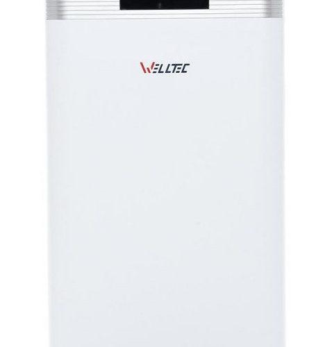 Oczyszczacz powietrza Welltec APH800D na białym tle.
