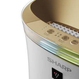 Przyciski w panelu oczyszczacza Sharp UA-PG50E