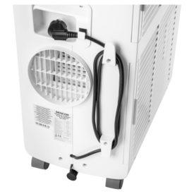 Wylot powietrza i zawinięty kabel klimatyzatora Sencor