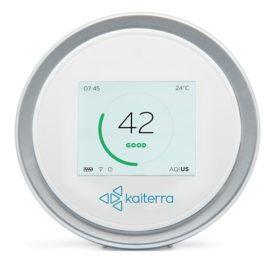 Sensor jakości powietrza Laser Egg 2+ wyświetlacz