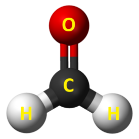 Formaldehyd-budowa