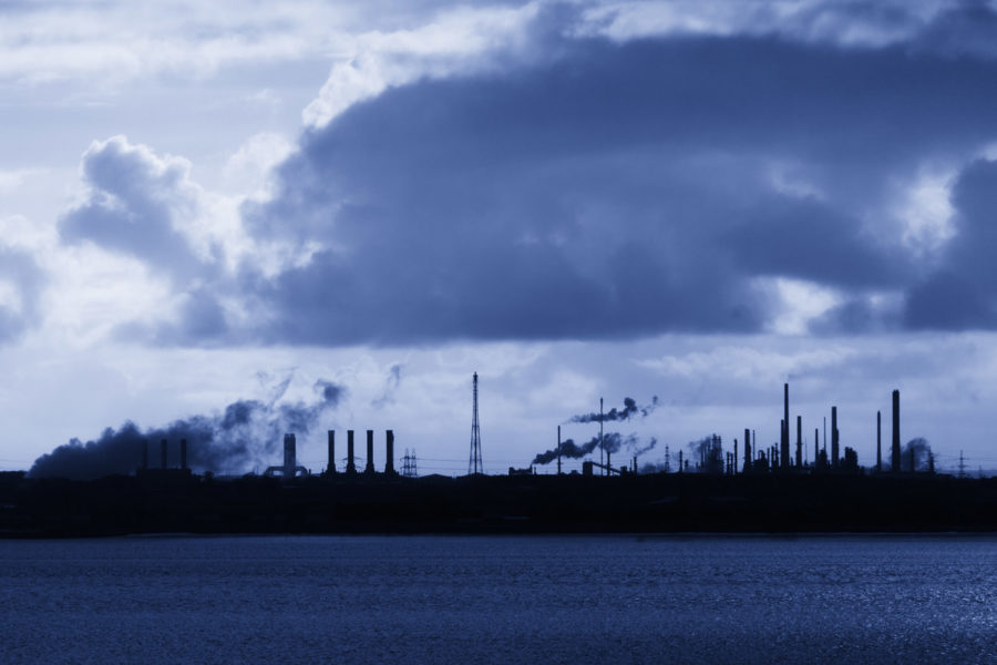 Formaldehyd-składnik-smogu