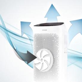 Cyrkulacja w oczyszczaczu powietrza Samsung