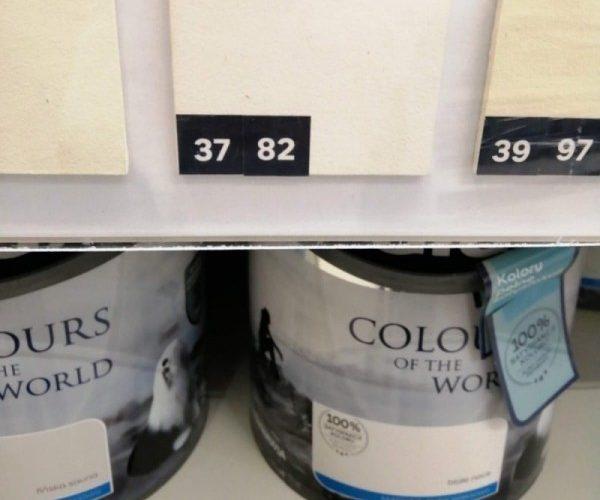 Zdjęcie farb do ścian