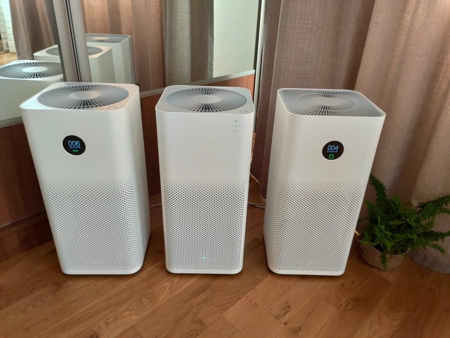Oczyszczacze powietrza Xiaomi w sypialni