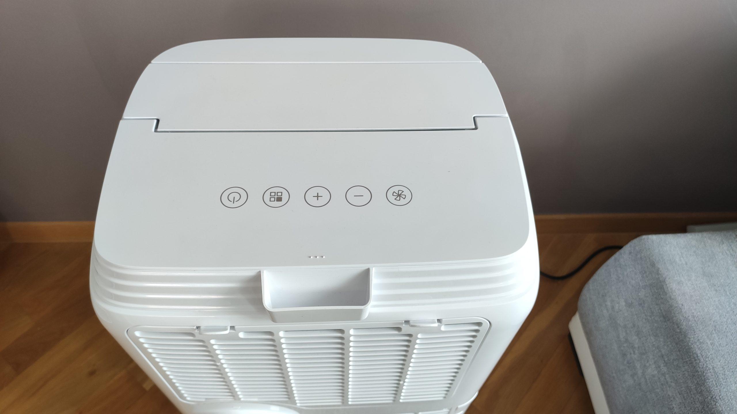 Klimatyzator przenośny Blaupunkt MB S 1111 E panel sterowania