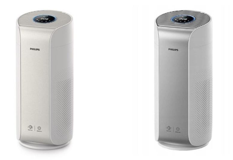 Oczyszczacze powietrza philips Dual Scan AC3055 i AC3059
