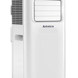 Klimatyzator przenośny Artnico AC-1A, widok pod kątem 45 stopni