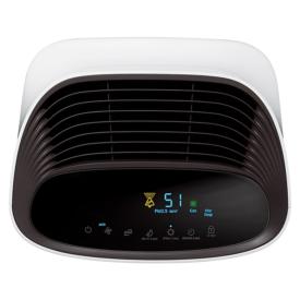 Wyświetlacz jakości powietrza i wylot powietrza w oczyszczaczu Samsung