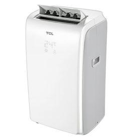 Klimatyzator przenośny TCL TAC-09CPBH/K biały, widok pod kątem 45 stopni