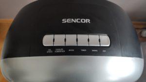 Klimatyzer ewaporacyjny Sencor-SFN-9011-SL panel sterowania