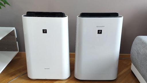 Oczyszczacze powietrza 2w1 firmy Sharp