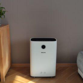 Oczyszczacz powietrza Philips AC2729/50 z przodu