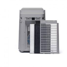 Oczyszczacz UA-HD40E-L od tyłu z filtrami