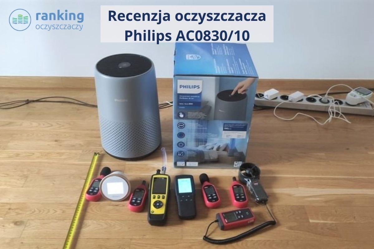 Philips AC0830 recenzja zdjęcie główne