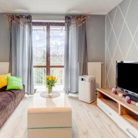 Oczyszczacz powietrza Welltec APH800 w salonie.